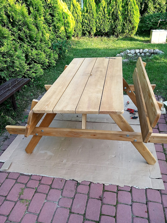 stół do ogrodu z Allegro