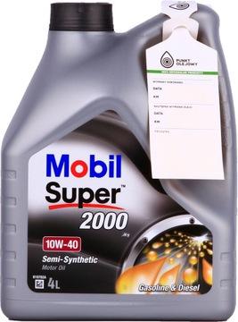 Mobil Super 2000 X1 4 l 10W-40